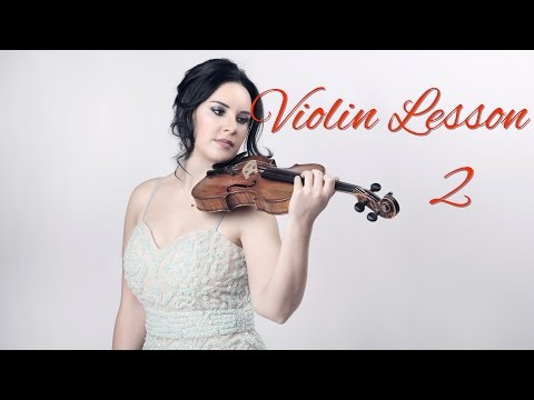 How to Play the VIOLIN - Lesson 2 - Different parts of the violin