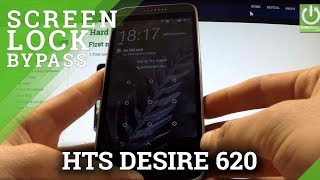 Hard Reset HTC Desire 620 - bypass Screen Lock by Recovery Mode