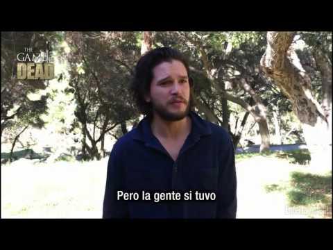 KIT HARINGTON PIDE PERDÓN POR MENTIR SOBRE JON SNOW (Subtitulado)