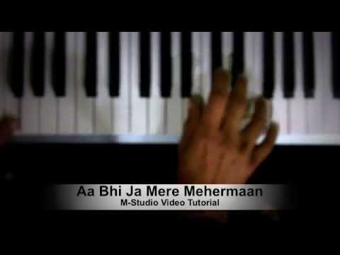 Aa Bhi Ja Mere Mehermaan - Atif Aslam Video Piano Tutorial - Jayantabhai Ki Luv Story video