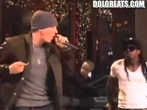 Skylaheavens Performs W Eminem & Lil Wayne no Love On Snl video