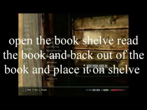 Ps3 Skyrim oghma infinium glitch after patch