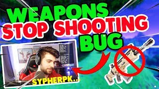 SypherPK Shows Weapons Stop Shooting Bug | Fortnite Daily Twitch Moments