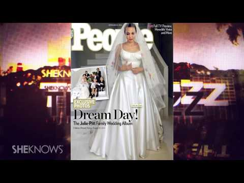 Brad Pitt and Angelina Jolie Release Wedding Album to People and Hello - The Buzz
