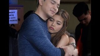 Eat Bulaga November 3 2016 SPOTTED: Alden and Maine BTS being clingy together while rehearsing