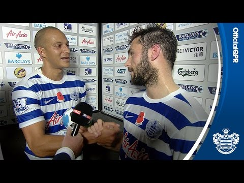 CHARLIE AUSTIN AND BOBBY ZAMORA POST-MATCH I QPR 2, MAN CITY 2