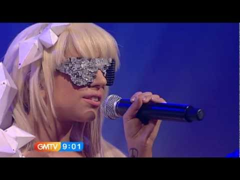 Lady Gaga - Just Dance Live @ (GMTV) Music Videos