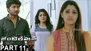 Gentleman Latest Full Movie Part 11  Nani  Nivetha