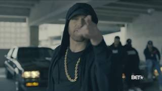 Eminem Rips Donald Trump - Reverse Version with Lyrics |  In BET Hip Hop Awards Freestyle Cypher