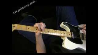 "Rockabilly & Country Guitar Ending Lick - Hybrid Picking & ""Ending Chords"" Lesson"""