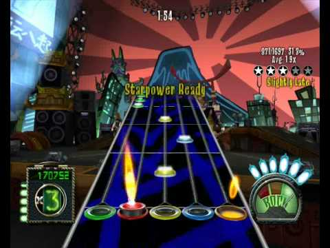 Roadrunner United - In the Fire (Frets on Fire sightread)