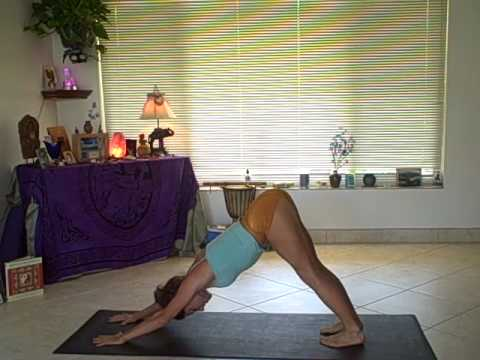 Vinyasa Yoga Sun Salutations With Dashama- All Levels video