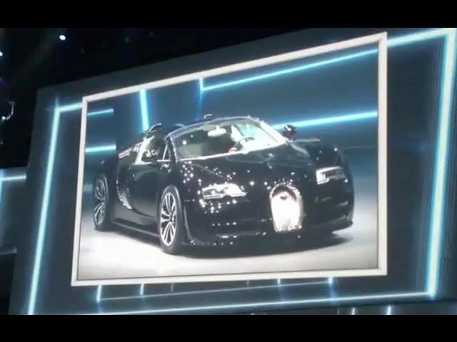 Bugatti Veyron Grand Sport Vitesse - Jean Bugatti special