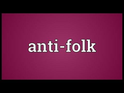 Header of Anti-folk