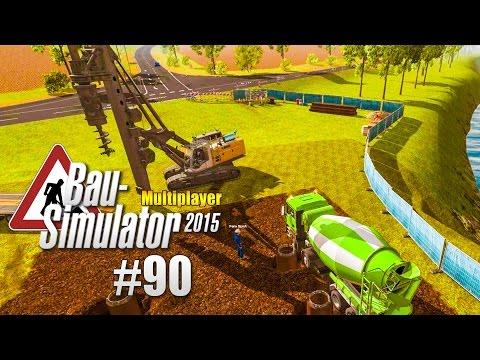 Bau-Simulator 2015 Multiplayer #090 - Abschluss mit dem Betonmischer! CONSTRUCTION SIMULATOR