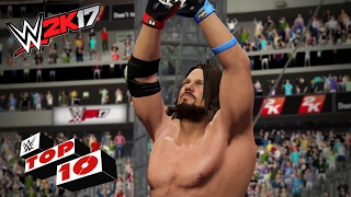 Spectacular Superstars' Springboards: WWE 2K17 Top 10