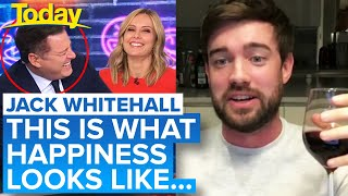 "Jack Whitehall's ""creepy"" lockdown situation has Aussie TV hosts in stitches 