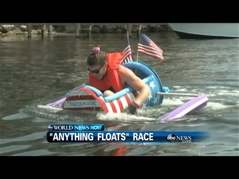 WEBCAST: Anything Floats Race