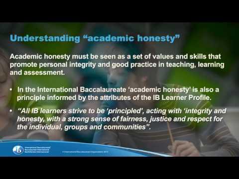 importance of academic honesty