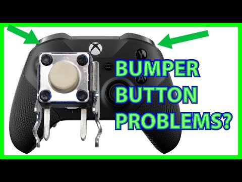 How to Replace & Upgrade an Xbox One Elite Series 2 Bumper Button (Tactile Switch)