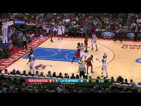 Washington Wizards Vs LA Clippers | First Half Highlights | 01/19/2013 | NBA 2012/13 Season