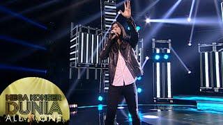 Rock Abis Virzha Dengan Lagu Don T Look Back In Anger Mega Konser Dunia 14 Des 2015
