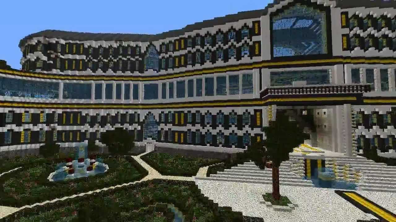 Minecraft - Palace of Awesomeness - YouTube