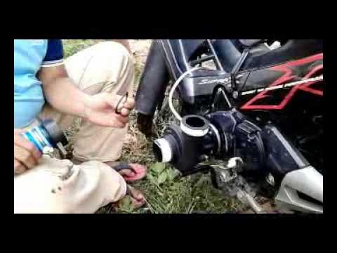 Pompa Air Tenaga Sepeda Motor 500 rb