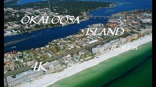 Okaloosa Island Florida Drone Footage