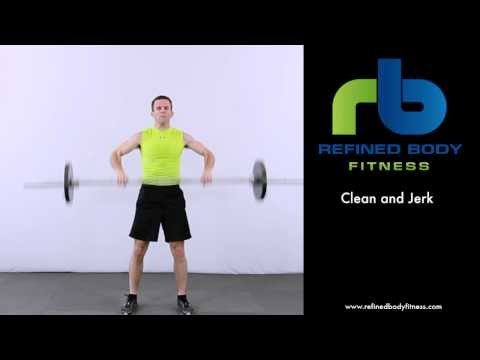Clean and Jerk - Exercise Demonstration by Refined Body Fitness Image 1