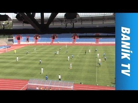 FC Baník Ostrava - FC MAS Táborsko 5:0 Juniorská liga