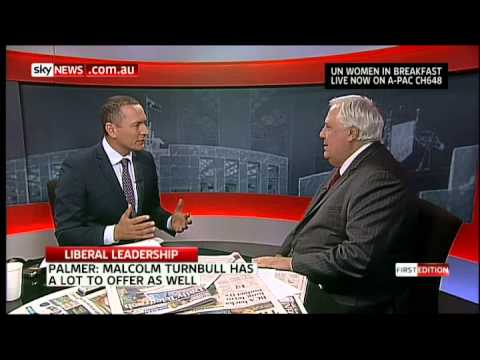 Back to business in the Senate - Clive Palmer on Sky News 3rd March 2015