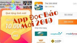 App Đọc Báo Mới 2019 Kiếm 100k ngày // kiếm tiền 24h
