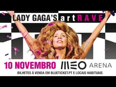Lady Gaga's Artrave: 10 Novembro Meo Arena video