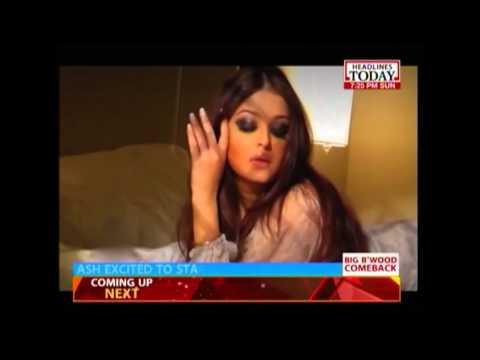 Aishwarya Rai Bachchan excited about her upcoming movie 'Jazbaa'