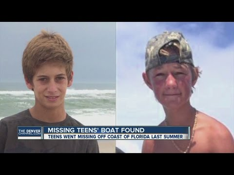 Missing Florida teens' boat, iPhone found