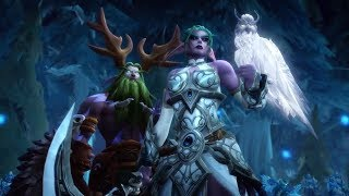 World of Warcraft: All Battle for Azeroth In-game Cinematics (Tides of Vengeance)