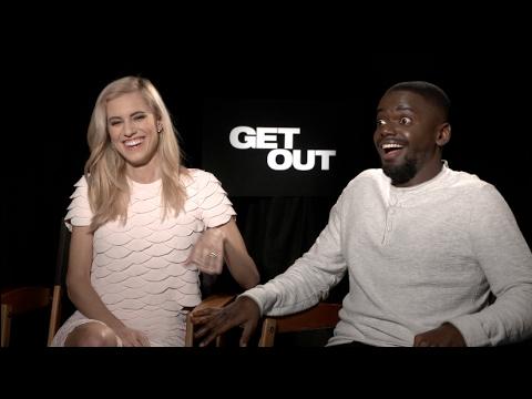 GET OUT Interviews - Jordan Peele, Allison Williams, Daniel Kaluuya