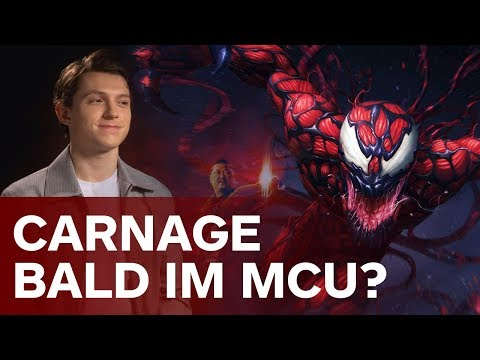 Carnage in Spider-Man: Homecoming 2?  | Avengers: Infinity War Tom Holland thumbnail