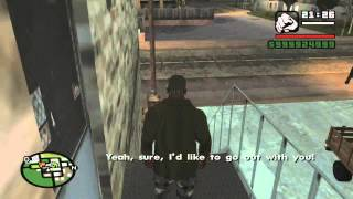 GTA San Andreas buy all Country and Badlands Properties and get Helena as girlfriend