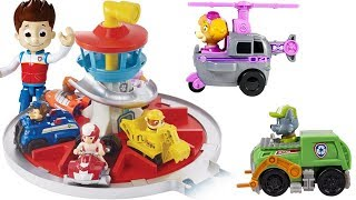 Learning Colors with Paw Patrol Vehicle Match Launch Roll Lookout Tower | Fizzy Fun Toys