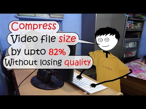 REDUCE VIDEO FILE SIZE BY UP TO 82% | WITHOUT LOSING QUALITY | SUPER BEGINNERS TUTORIAL