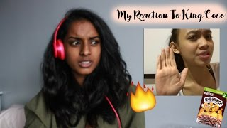 ♡ MY REACTION TO KING COCO |VOGUEUNICORN ♡