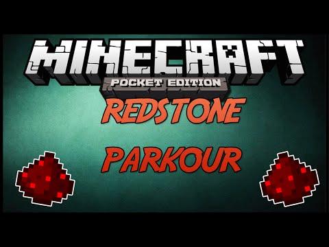 Minecraft PE REDSTONE PARKOUR