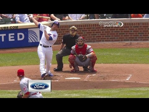 Schierholtz's solo homer gives Cubs 1-0 lead