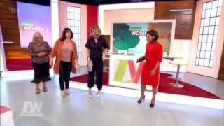 Loose Women try on flip flops