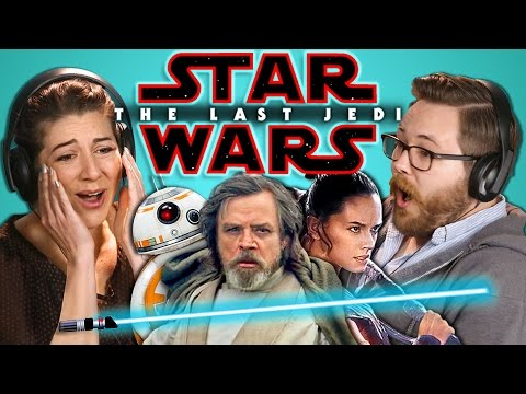 ADULTS REACT TO STAR WARS: THE LAST JEDI OFFICIAL TEASER (ft. FBE Staff)