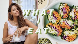 what i eat in a day to be fit & feel good | healthy & easy