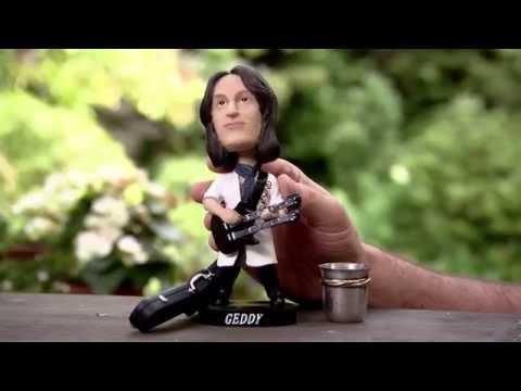 Geddy Lee of Rush: ALS Ice Bucket Challenge