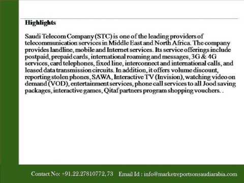 Market Reports on Saudi Arabia Telecom Company 7010   Financia
